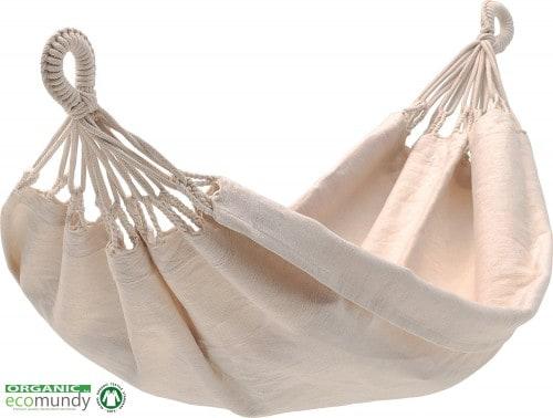 baby hangmat – naturel BIOLOGISCH katoen – GOTS ECO – ecomundy