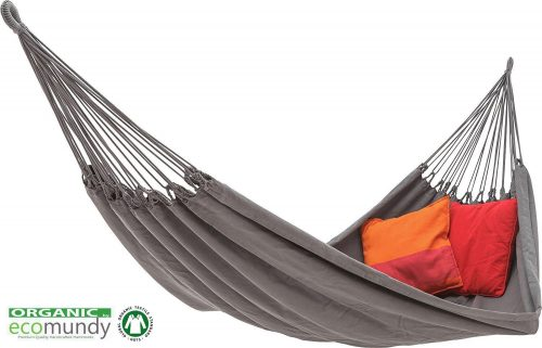 ecomundy hammock anthracite organic cotton
