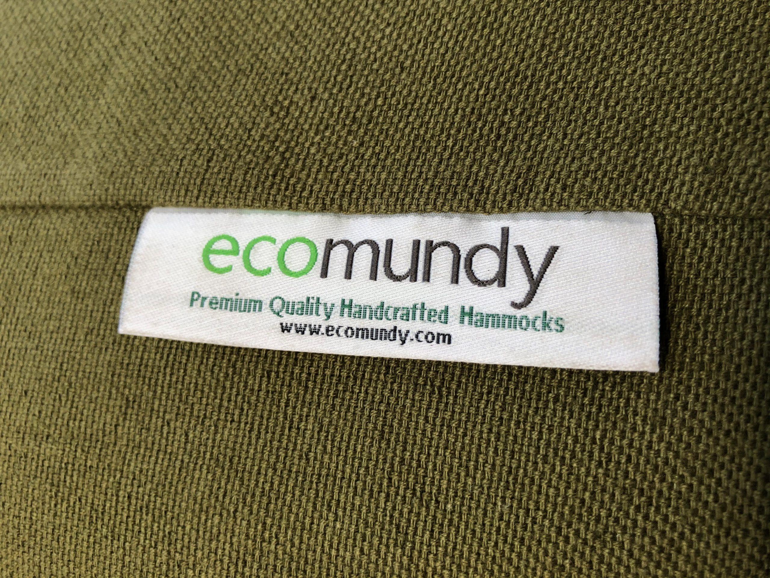 groene hangmat bio katoen duurzaam ecomundy